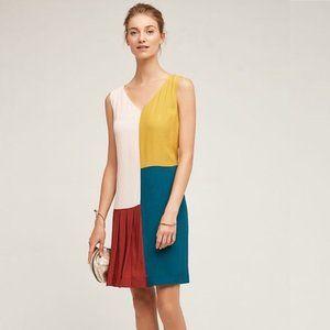 HD in Paris - Anthro Asymmetric Color Block Dress